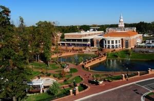 Slane Student Center and David Hayworth Park